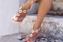 sandali crochet