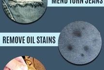 Stain removal and cleaning tips