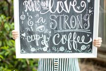 C O F F E E  / Coffee is happiness in a cup and a warm hug for the soul.  / by Alaina Marie