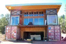Konténer ház
