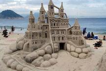 Sandcastles.
