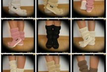 Uki-Crochet summer boots -cotton / http://en.dawanda.com/shop/uki-crafts