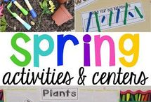Spring activities and centers