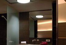 Bathroom lights / Discover our big range of innovative bathroom lighting solutions at: http://www.pgses.com/type/bathroom-lights/