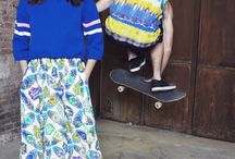 floral & print : skirt