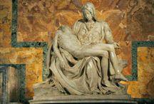 Pieta by Michaelangelo.