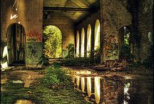 Forgotten Places / A lovely collection of empty, abandoned spaces teeming with their own brand of beauty.