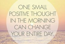 Positivity...