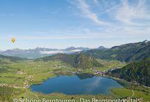 Kaiserwinkl & Umgebung (Österreich) / by Schöne Bergtouren - Das Bergsportportal