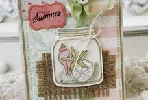 Created cards.....summer / by Rhonda Potts