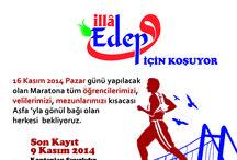 """Asfa Gönüllüleri İstanbul Maratonu'nda """"İLLA EDEP"""" İçin Koşuyor! / Asfa Gönüllüleri İstanbul Maratonu'nda """"İLLA EDEP"""" İçin Koşuyor!"""