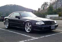 Mercedes SL R129 / I have an R129 and I am just saving nice examples for inspiration.