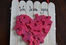 Cute Valentine's Day craft's