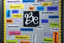 bulletin board / by Becky Jilderda