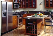 Kitchen Designs / We just did a full kitchen remodel in our home and got inspiration from some of these