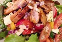 Húsos saláták