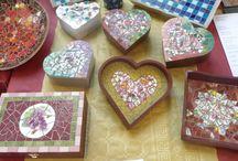 Kreativurlaub  - Creative holiday / Mosaikkurs in Frankreich/Burgund - Mosaic workshop in France/Burgundy