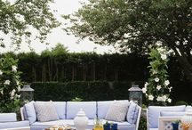 Outdoor Spaces / Patios, roof decks, and gardens. / by Rebecca Koskinen
