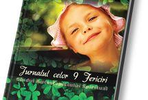 Jurnalul celor 9 Fericiri / Este o carte inspiraţională ce abordează tema fericirii din perspectiva psihologiei pozitive şi a spiritualităţii creştine.