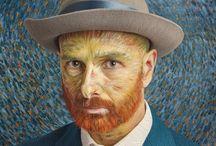 Van Gogh Challenge / Van Gogh art photography by Marc Boom