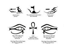 Símbolos: Antiguo Egipto
