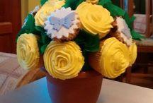 Bouquet de Cupcakes / Una linda idea para regalar en cualquier ocasión.