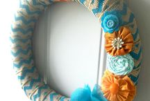 Wreath Ideas / by Jen Pierce Watts
