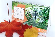 Print design. Calendars 2014 / Desktop calendars. Design, layout, prepress, print. Size: 190х130х70 mm.