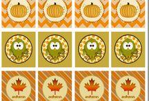 Fall/Thanksgiving Printables / by Tonya Nunn