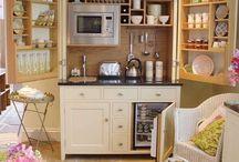 cucina a scomparsa/monoblocco