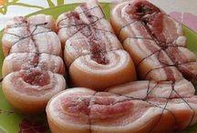 Мясо сало