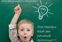 FlexTeachers / Dè intermediair tussen scholen en invalkrachten!