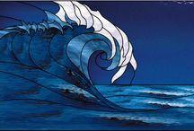 Mare / Chiudo i miei occhi e sento il profumo del mare,il suono della risacca....i miei piedi affondano nella sabbia calda!