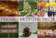 Wedding Ideas / Any and all ideas I could find for a Green, REcycled, Frugal and/ or Crafty Wedding....