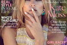 Ikona mody - Kate Moss