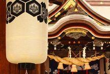 お寺へ / 日本と中国のお寺