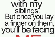 {My siblings}