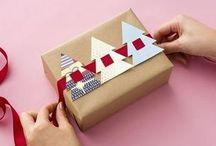 paketering av julklappar