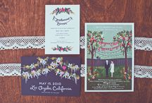 Invitations / by 3EggsDesign