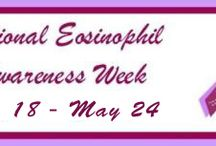 2014 National Eosinophil Awareness Week - May 18 - 24 / Raising awareness for those suffering from eosinophil related diseases.  There is no known cure.  These diseases are chronic and life changing.  Help us to raise awareness and find a cure!