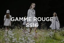 Moncler Gamme Rouge Spring-Summer 2016 / by Moncler