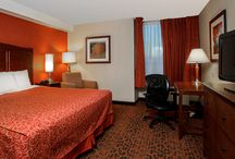 Rest your head here... / If Niagara Falls is in your future travel plans, try out one of our spacious and comfortable rooms.