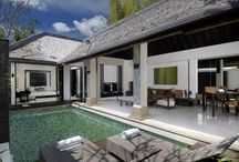 Pool Villas / 5 one bedroom pool villas Private pool of 6X3 meters Living room Kitchenette Pool deck area