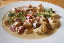 lavkarbo kylling