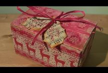 utube christmas box and bags / by Lavinia Dow