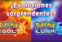 Muchas evoluciones y Formas de Alola para Pokémon Sol y Luna