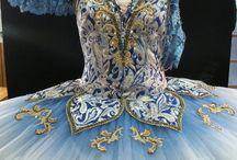 ballet costume(blue)