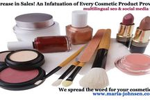 Cosmetic product promotion / We spread the word about your cosmetic products and services
