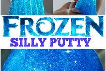 Putty stuff / Hier kan je dingen vinden voor klei en a der kneedbaar spul