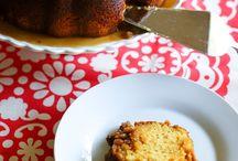 Christmas Rum Pudding Cake / Desserts